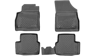 WALSER Passform-Fußmatten »XTR«, Opel, Astra, Schrägheck, (4 St., 2 Vordermatten, 2... kaufen