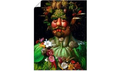Artland Wandbild »Vertumnus (Kaiser Rudolf II.). 1590« kaufen
