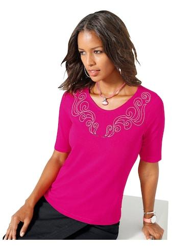 Alessa W. Shirt mit Glitzersteinchen kaufen