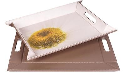 freeform Tablett »Margerite«, mit Doppelfunktion, 35 x 45 cm kaufen