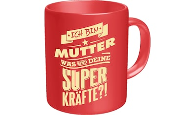 Rahmenlos Kaffeebecher mit witzigem Spruch »für die Mama« kaufen