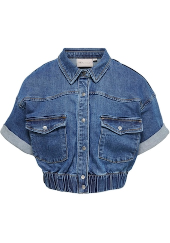 KIDS ONLY Jeansbluse »Name KONSOPHIE«, in kurzer Form kaufen
