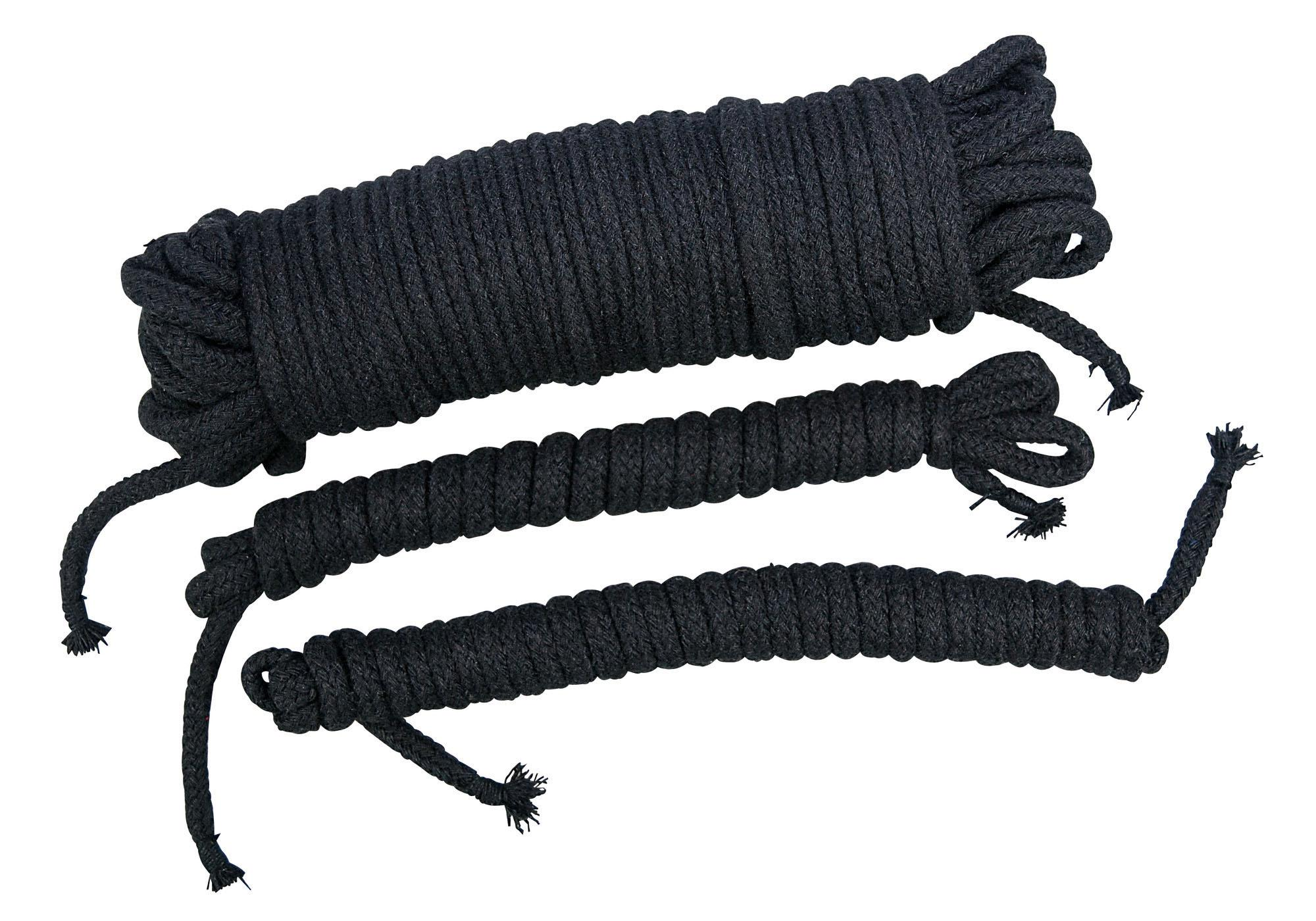 Bad Kitty Bondage Seile schwarz, Bondage Seile ...