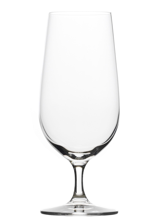 Stölzle Bierglas, (Set, 6 tlg.), 390 ml, 6-teilig farblos Bierglas Kristallgläser Gläser Glaswaren Haushaltswaren