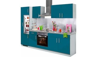 wiho Küchen Küchenzeile »Kiel«, mit E-Geräten, Breite 270 cm kaufen