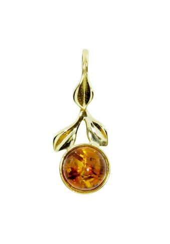 OSTSEE - SCHMUCK Kettenanhänger »Blüte Gold 333/000 Bernstein« kaufen