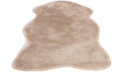 andas Fellteppich »Mailo 1«, rechteckig, 35 mm Höhe, Kaninchenfell-Optik, Kunstfell, Wohnzimmer kaufen