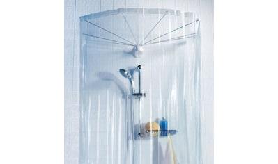 spirella Duschschirm »Ombrella«, inklusive Duschvorhang mit acht Ösen, Länge 170 cm kaufen