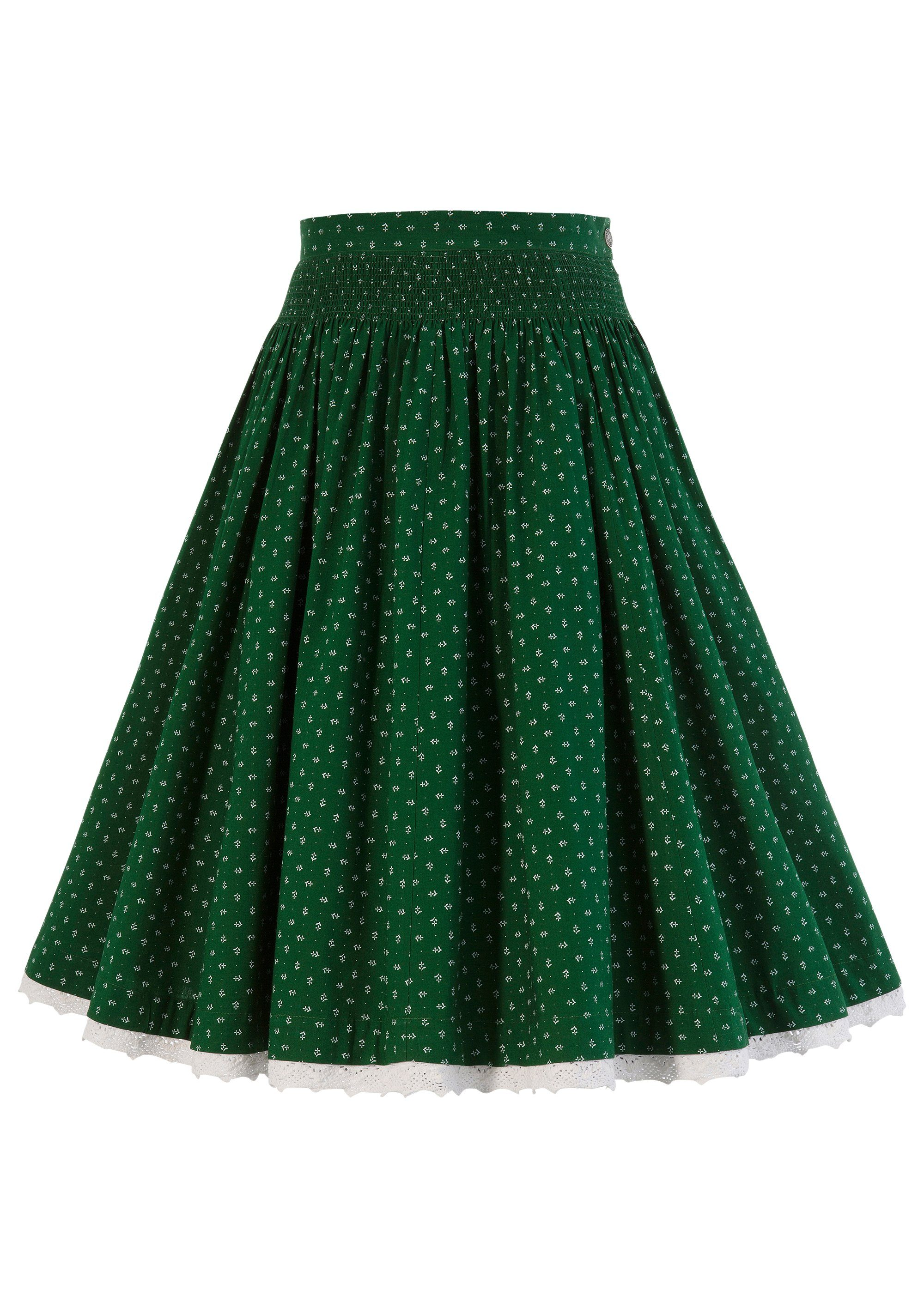 Almsach Trachtenrock mit integriertem Petticoat