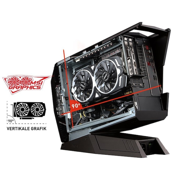 MSI Aegis 3 9SC-232DE Gaming-PC »Intel Core i7, RTX 2060 Super Ventus, 256 GB + 1 TB, 16 GB RAM«