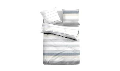 TOM TAILOR Bettwäsche »Leinen Bettwäsche gestreift« kaufen