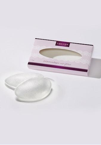 LASCANA BH-Einlagen, transparent mit leichtem Glitter kaufen