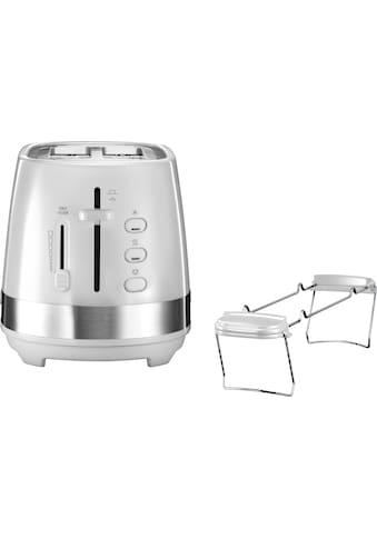 De'Longhi Toaster »ACTIVE LINE CTLA2103.W«, für 2 Scheiben, 900 Watt kaufen