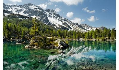 Komar Fototapete »Bergmagie«, mehrfarbig-natürlich-bedruckt kaufen