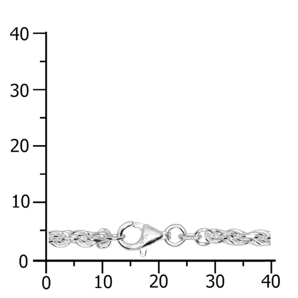 OSTSEE-SCHMUCK Silberkette »- Kordel 2,8 mm - Silber 925/000 -,«, (1 tlg.)