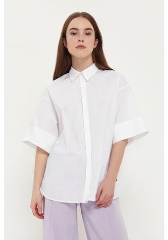 Finn Flare Klassische Bluse, mit klassischem Hemdkragen kaufen