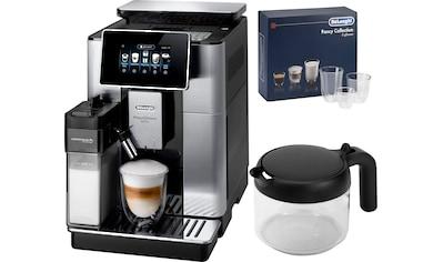 De'Longhi Kaffeevollautomat »PrimaDonna Soul ECAM 610.75.MB mit Kaffeekannenfunktion,... kaufen