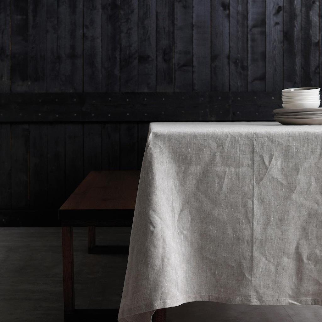 DDDDD Tischdecke »Cabin«, aus Leinen, in 4 Größen