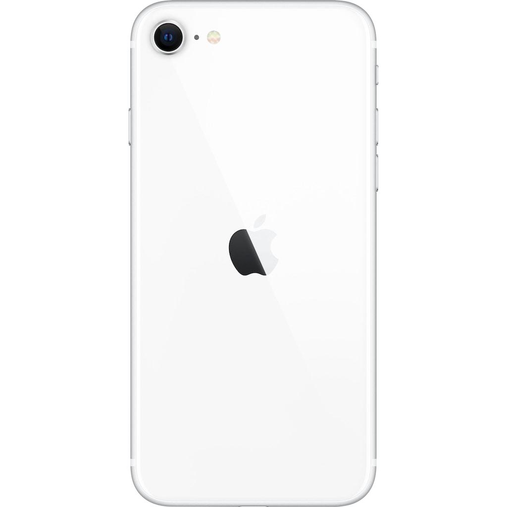 """Apple Smartphone »iPhone SE 64GB (2020)«, (11,94 cm/4,7 """", 64 GB Speicherplatz, 12 MP Kamera), ohne Strom-Adapter und Kopfhörer"""