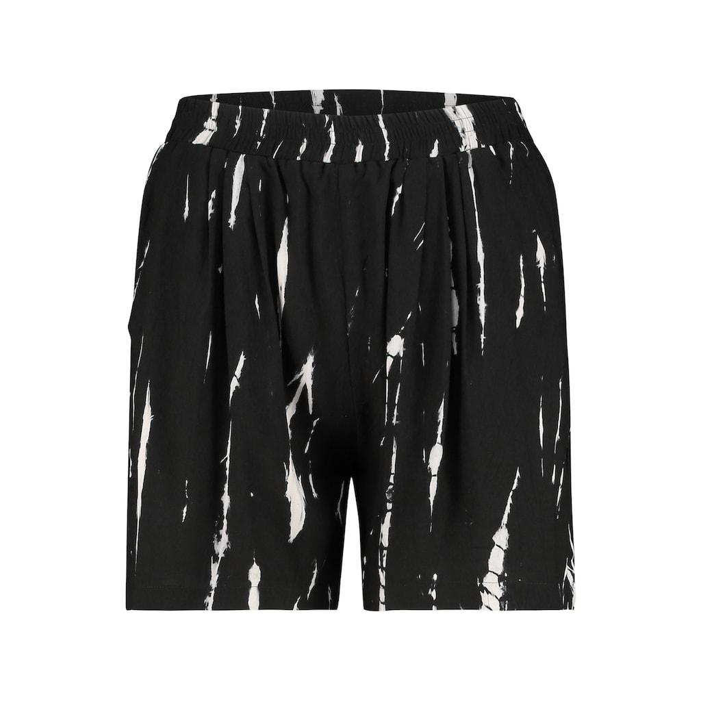 Juna Lane Strandshorts mit Seitentaschen in Tie&Dye-Druck