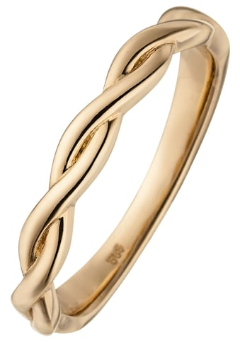 JOBO Goldring, geflochten 585 Roségold kaufen