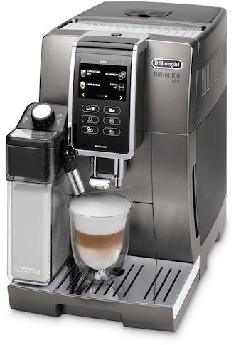 De'Longhi Kaffeevollautomat Dinamica Plus ECAM 370.95.T, 1,8l Tank, Kegelmahlwerk kaufen