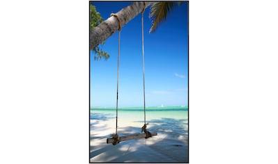 Papermoon Infrarotheizung »Beach«, Aluminium, 600 W, 100x60 cm kaufen