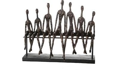 Casablanca by Gilde Dekofigur »Skulptur Community«, Dekoobjekt, Höhe 35 cm, mit... kaufen