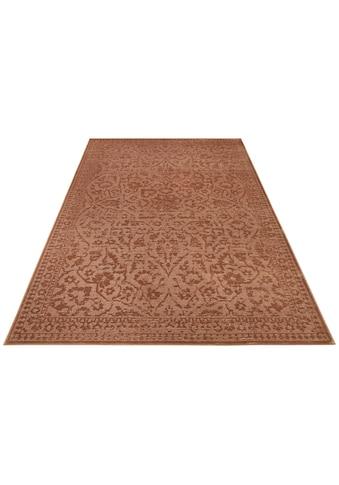 ELLE Decor Teppich »Blavet«, rechteckig, 6 mm Höhe, Viskose, Wohnzimmer kaufen