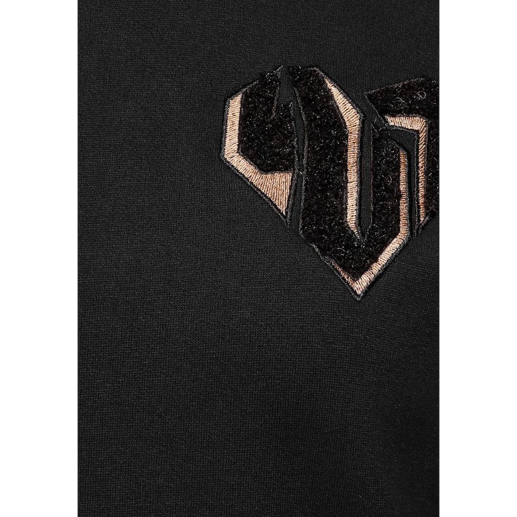 Ocean Sportswear Longsweatshirt, mit Reißverschluss seitlich am Saum
