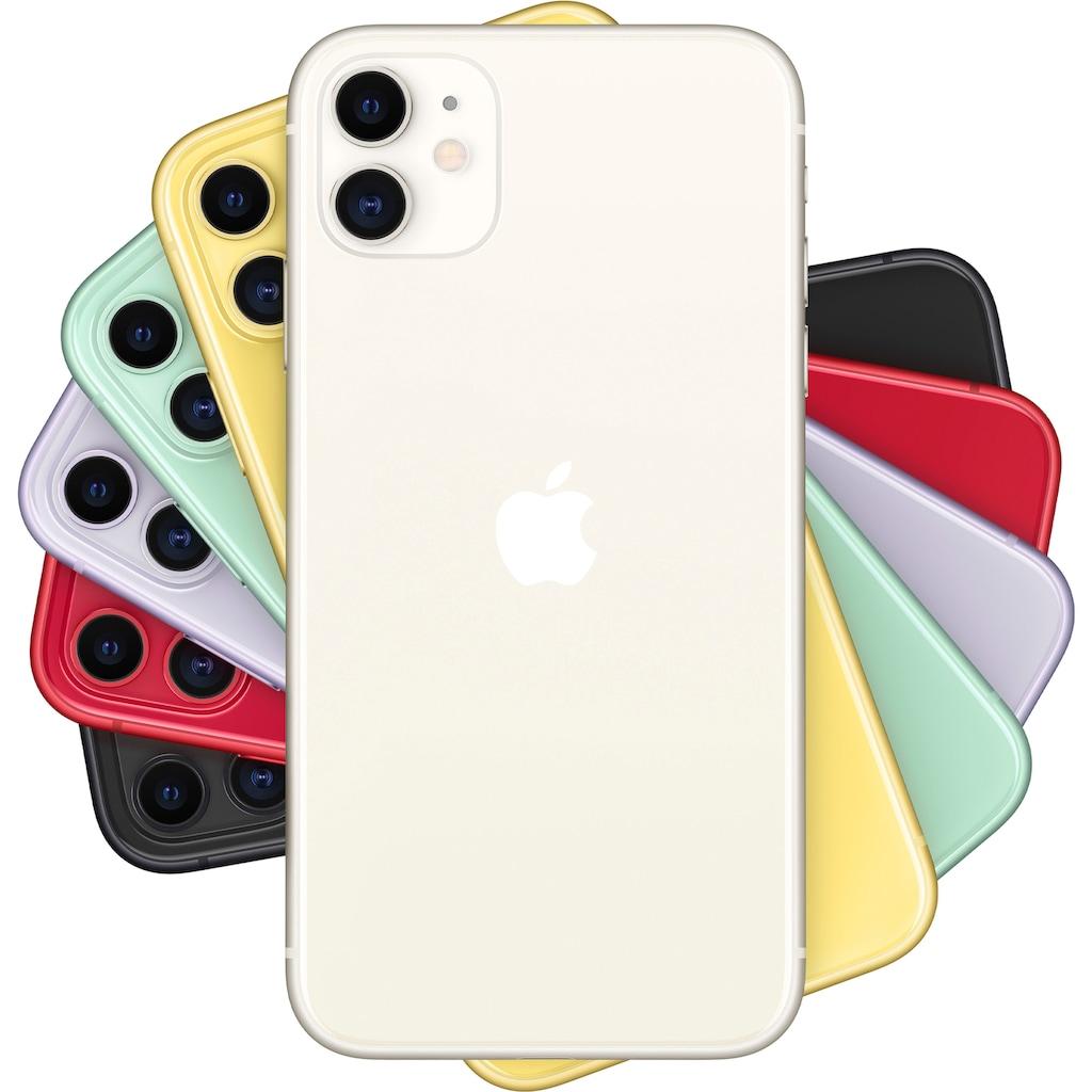 """Apple Smartphone »iPhone 11«, (15,5 cm/6,1 """" 256 GB Speicherplatz, 12 MP Kamera), ohne Strom-Adapter und Kopfhörer"""