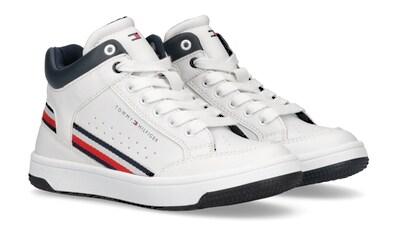Tommy Hilfiger Sneaker, mit Textilband in Logofarben an der Seite kaufen