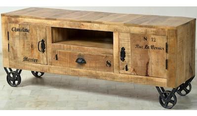 SIT Lowboard »Rustic«, im Factory design, Breite 140 cm, Shabby Chic, Vintage kaufen