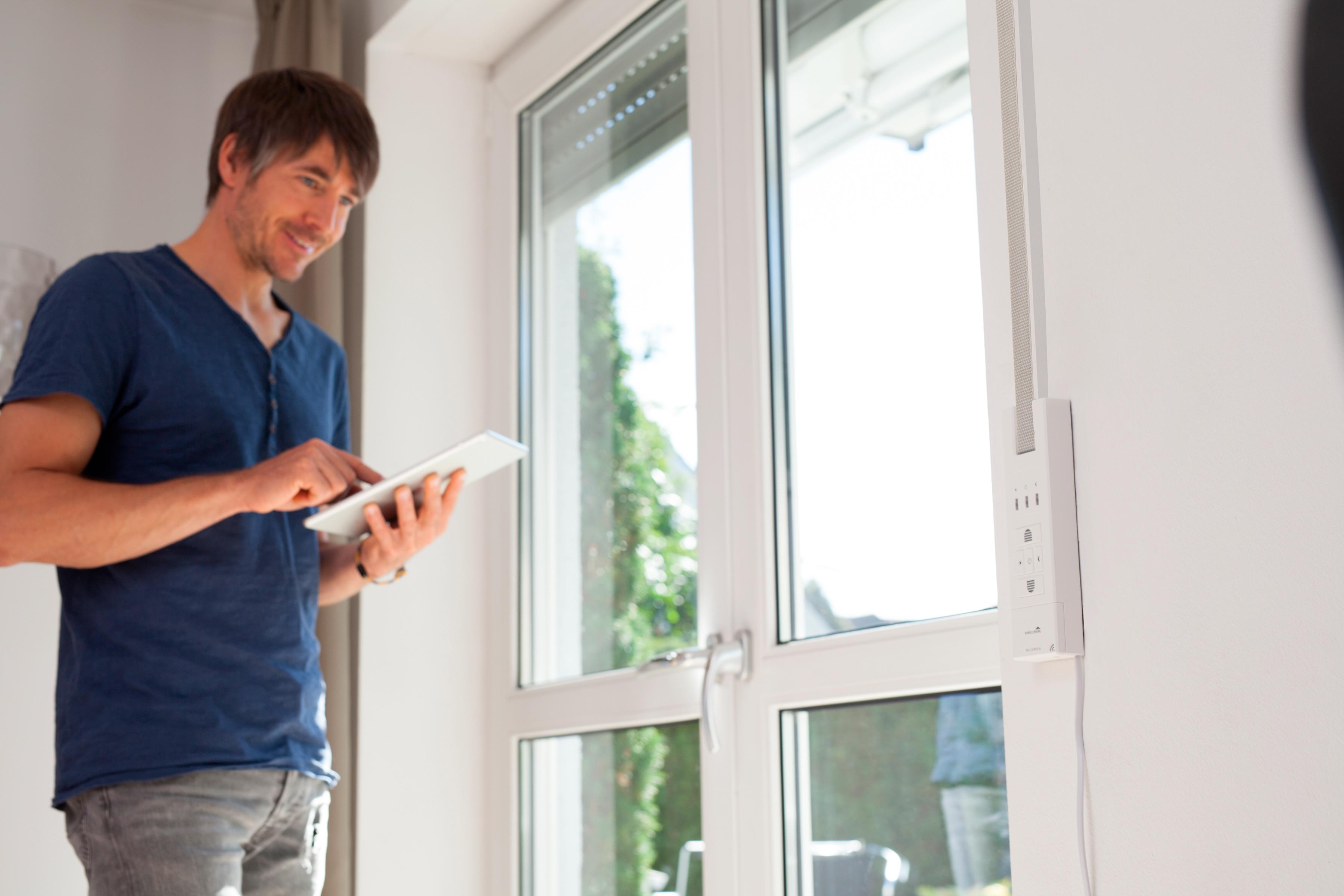 SCHELLENBERG Smart-Home-Gurtwickler RD 65 Premium weiß Schellenberg