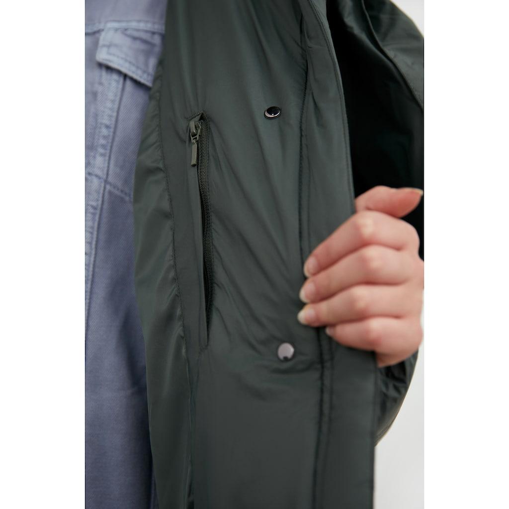 Finn Flare Daunenjacke, mit hohem Stehkragen