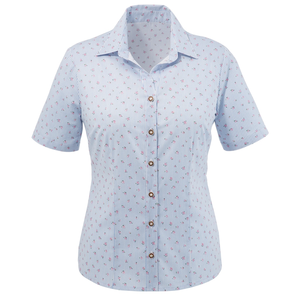 Love Nature Trachtenbluse, - Made in Austria