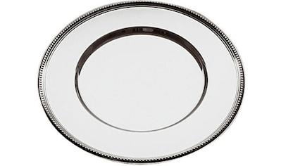 APS Platzteller, Edelstahl, Ø 33 cm, mit Perlrand kaufen