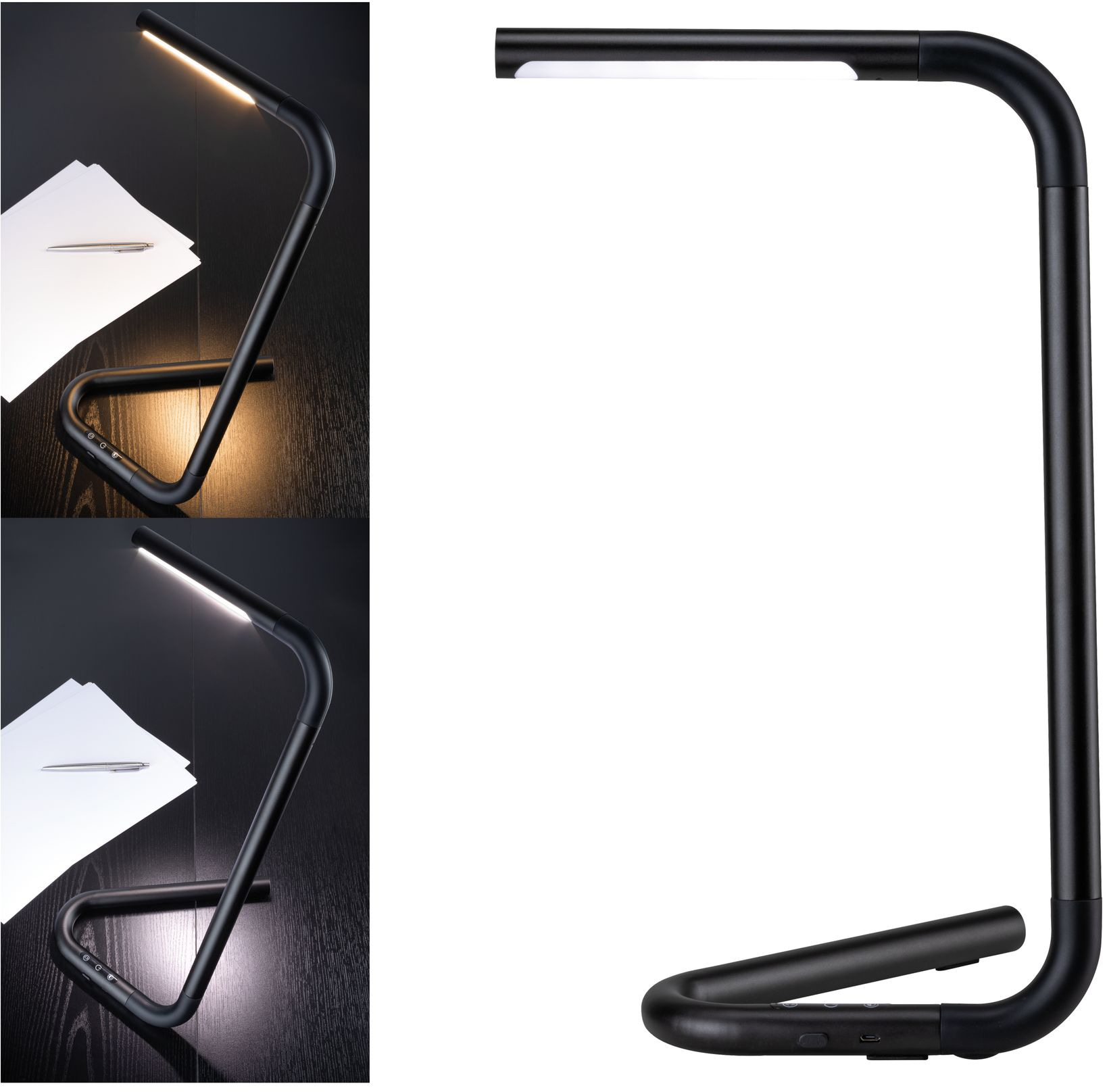 PaulmannLED SchreibtischlampeFlexLink Wohnen/Accessoires & Leuchten/Lampen & Leuchten/LED-Lampen und LED-Leuchten/LED Tischleuchten/LED Schreibtischlampen