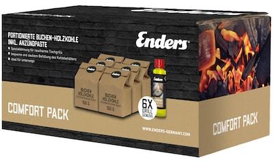ENDERS Grillkohle Buche 6x150 g, inkl. Anzündpaste kaufen