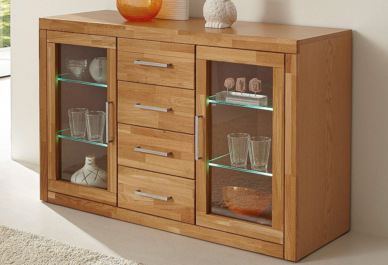 Places of Style Sideboard Breite 130 cm
