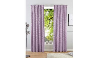 Guido Maria Kretschmer Home&Living Vorhang »Gian«, Samt bedruckt kaufen