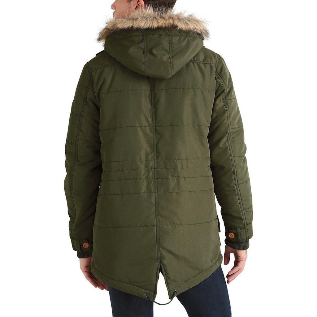 Blend Parka »Polygamma«, warme Jacke warm wattiert