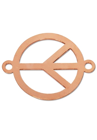 Adelia´s Kettenanhänger »Peace Frieden Anhänger 925 rosé Silber« kaufen