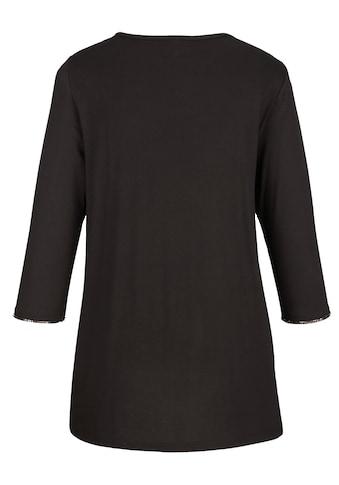 MIAMODA Shirt aufwendig mit Pailletten besetzt kaufen