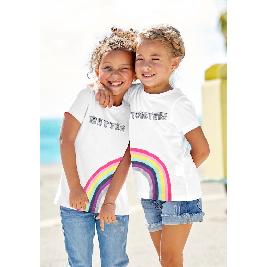 KIDSWORLD Print-Shirt »BETTER TOGETHER«, für Freundinnen