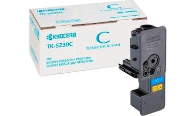 Kyocera Tonerpatrone »Kyocera Toner TK-5230C, 1T02R9CNL0, original, cyan« kaufen