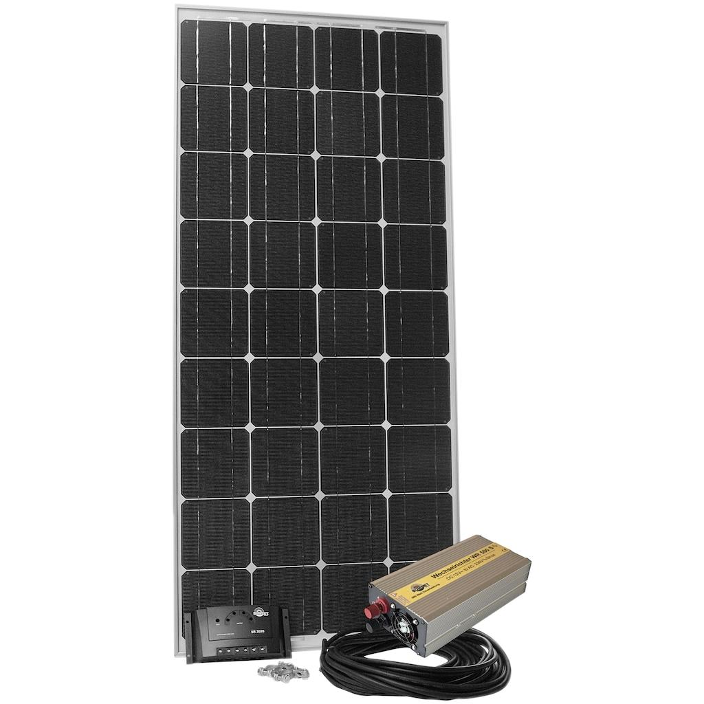 Sunset Solarmodul »Stromset AS 180, 180 Watt, 230 V«, für Gartenhäuser oder Reisemobil