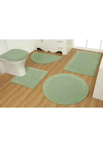 OTTO products Badematte »Joonas«, Höhe 15 mm, beidseitig nutzbar, aus recycelter... kaufen