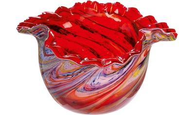 GILDE GLAS art Dekoschale »Colorista« kaufen