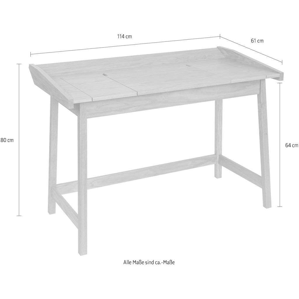 Woodman Schreibtisch »Walter«, mit 3 Klappen